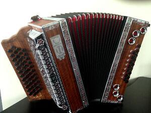Alpenklang Harmonikakoffer Steirische Harmonika 4-reihig