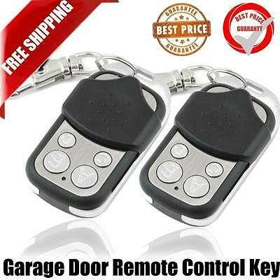 Electric Cloning Gate Garage Door Remote Control Fob 433mhz Key Fob For Car HH