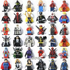 DC-Comics-Superhero-Avengers-X-Men-Marvel-Batman-Custom-Minifigures-Fits-Lego