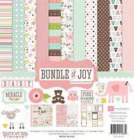 Echo Park Paper Bundle Of Joy Girl Collection Scrapbooking Kit , New, Free Shipp on sale