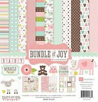 Echo Park Paper Bundle Of Joy Girl Collection Scrapbooking Kit , New, Free Shipp on sale