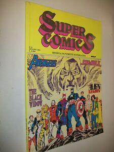 RIVISTA-SUPER-COMICS-N-9-FUMETTI-SUPERLATIVI-MBP-GIUGNO-1991-HALL-BYRNE-amp-C