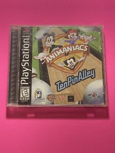🔥PS1 PlayStation 1 PSX GAME💯COMPLETE WORKING GAME 🔥 TEN PIN ALLEY ANIMANIACS