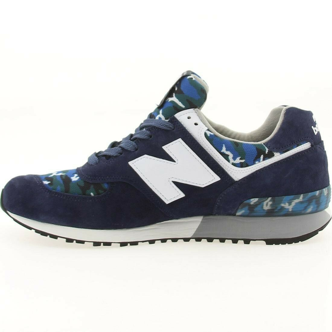 NEW BALANCE US576CM1 CLASSIC CAMO PACK NAVY/CAMO SIZE10.5 MADE IN USA MSRP199.99