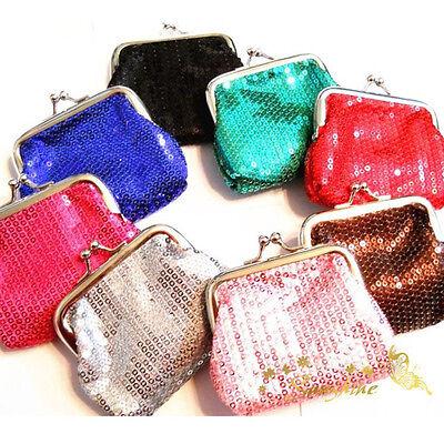 New Women Girls Wallet Clutch Purse Coins Bag Pouch Handbag US EF