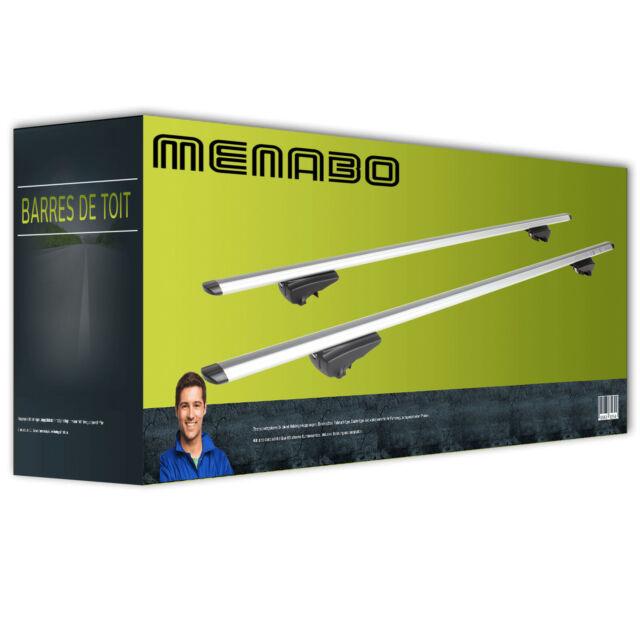Barres de toit alu pour Menabo Pick-Up NEUF COMPL.