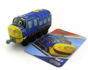 Chuggington-StackTrack-Diecast-CHUGGINEER-BREWSTER-Train-Engine-TOMY-54119-NIP