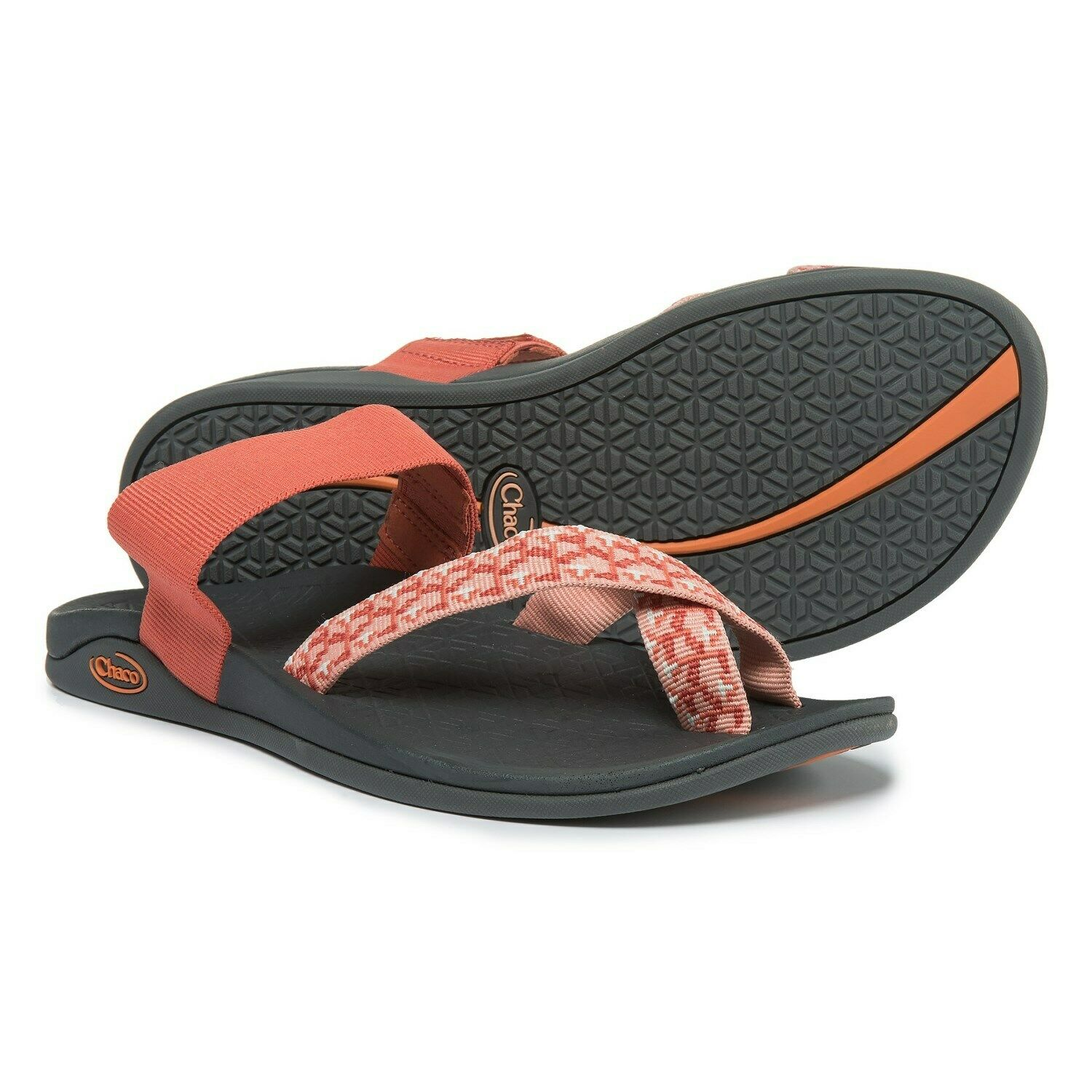 Chaco Tetra Cloud Sandals Ginger Spice Womens Size 6