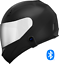 thumbnail 2 - Motorcycle-Helmet-with-Bluetooth-Headset-installed-Shield-color-options
