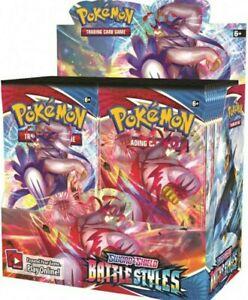 Display Pokémon Styles De Combats Neuf Scellé