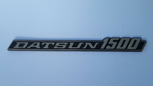 "DATSUN 620 Pick-up /""DATSUN 1500/"" Chrome Badge// Emblem//Logo  1Pcs."