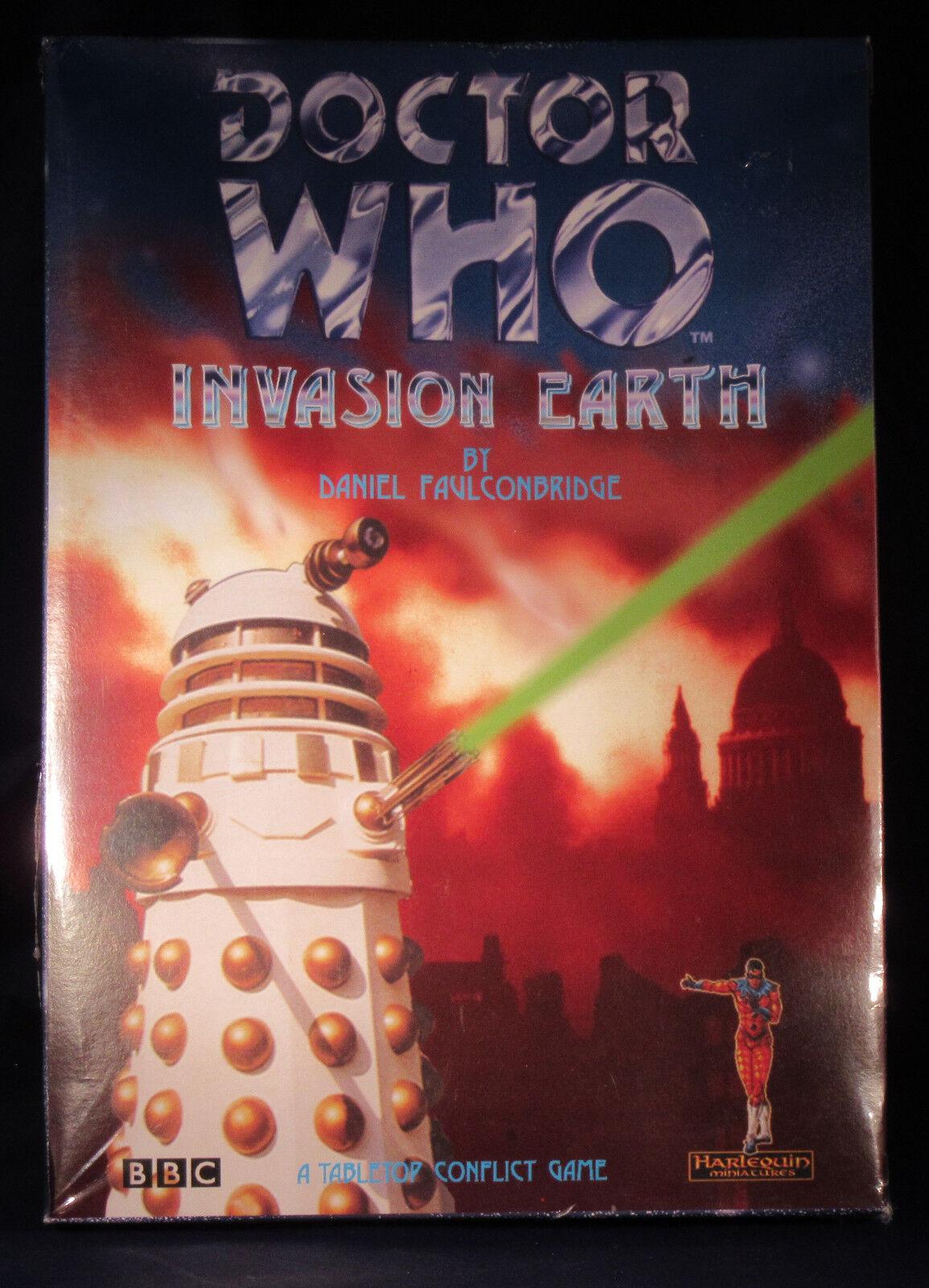 Doctor Who  invasión tierra Arlequín fuera de paquete Sellado Envío gratis dentro de los EE. UU.