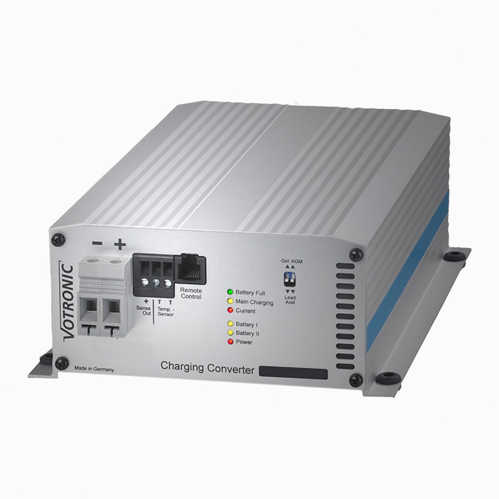 Votronic VCC 2412-45 Batterie IU Ladewandler Batterie 2412-45 zu Batterie Lader B2B Ladegerät 3a4c8a
