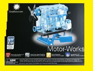 Smithsonian Motor Works Gas Engine Model Kit Educational ...