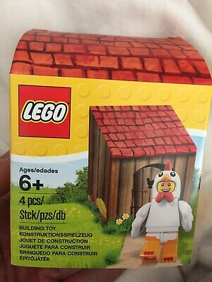 LEGO 5004468 Limited EASTER Chicken Suit Guy Minifigure Hen House BRAND NEW