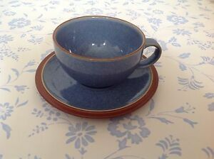 NEWDENBY JUICEBERRY BLUE Gorgeous TEA Cup and Saucer - Plymouth, Devon, United Kingdom - NEWDENBY JUICEBERRY BLUE Gorgeous TEA Cup and Saucer - Plymouth, Devon, United Kingdom