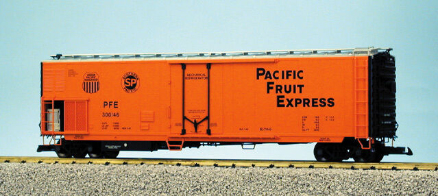 USA Trains G Escala 50' mechnanical hierba R16709 Pacific Fruit Express-SP & Up