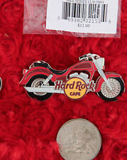 Hard Rock Cafe Pin MOTORCYCLE bike cruiser harley lapel hat logo online