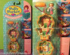 Polly Pocket Mini NEU ♥ Blumen Kettchen ♥ Camp Days Locket ♥ OVP ♥1991 ♥NEW ♥