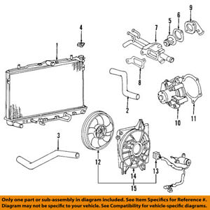 [DIAGRAM_38EU]  KIA OEM 04-09 Spectra-Engine Water Pump Gasket 2561423100 | eBay | 2004 Kia Spectra Engine Diagram |  | eBay