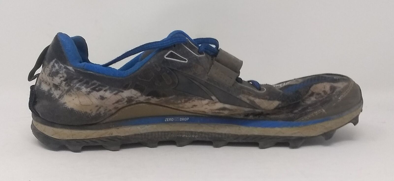 Altra Footwear Mens King MT Trail Running shoes,blueee,US 11.5 D - USED