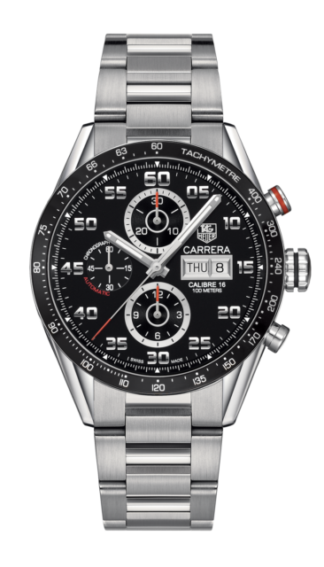 Charity auction: TAG Heuer Carrera Calibre 16 Day-Date for TECHO