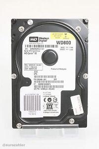 """Western Digital 3,5"""" 80 GB 80GB SATA 3Gb/s WD800JD-60LSA0 381648-001 7200rpm ... - Grevenbroich, Deutschland - Western Digital 3,5"""" 80 GB 80GB SATA 3Gb/s WD800JD-60LSA0 381648-001 7200rpm ... - Grevenbroich, Deutschland"""