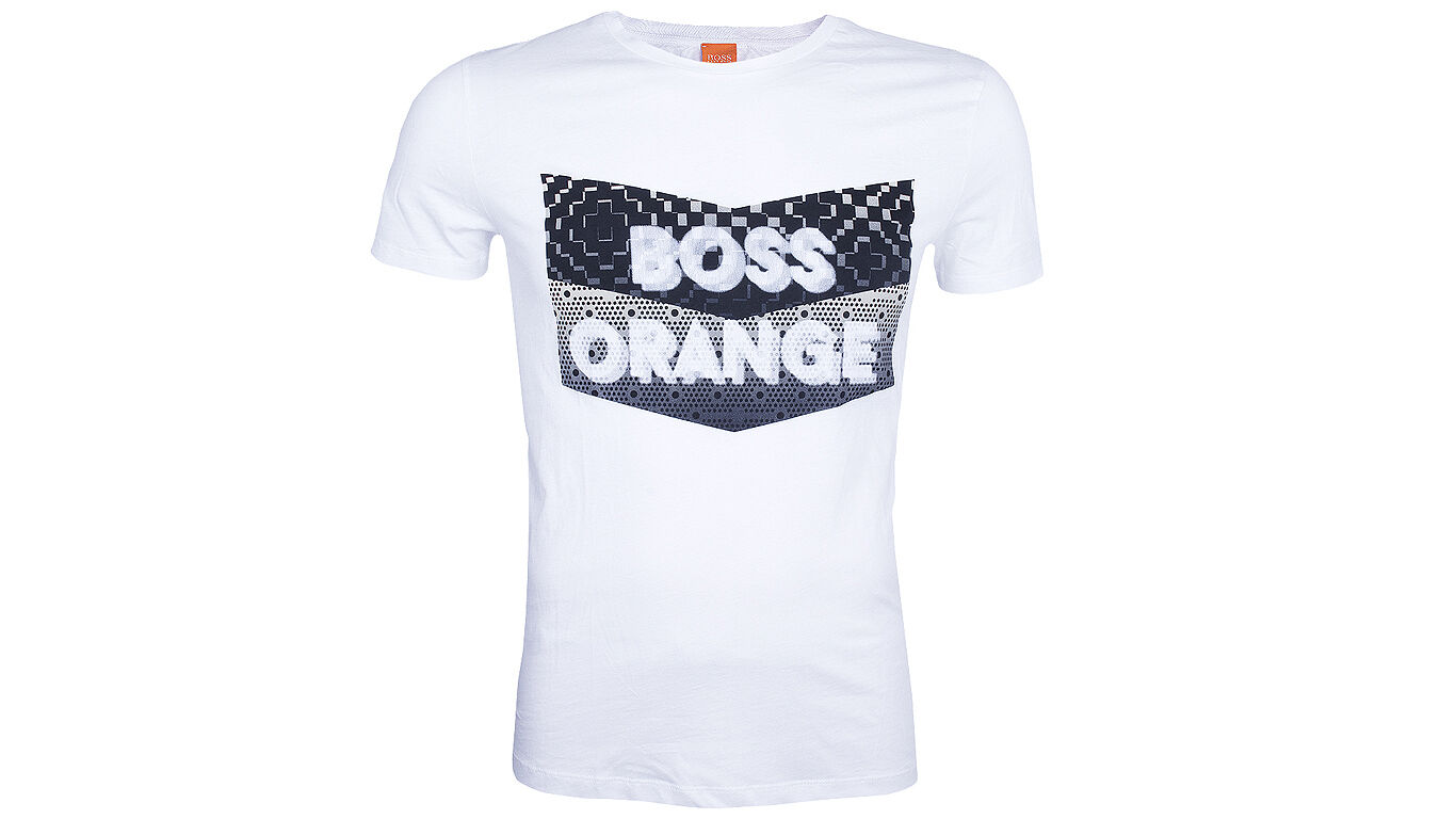 Hugo Boss T-Shirt kurzarm Tripolo M white Rundhals Baumwolle regular fit Neu