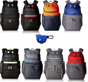 Under Armour UA Undeniable 3.0 Backpack Laptop Sleeve Footwear Clip ... df70e03273c77
