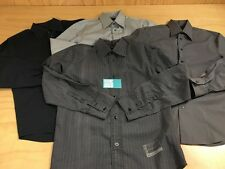 LOT OF 4 Button Up Long Sleeve Dress Shirts Express Design Studio G Star Raw