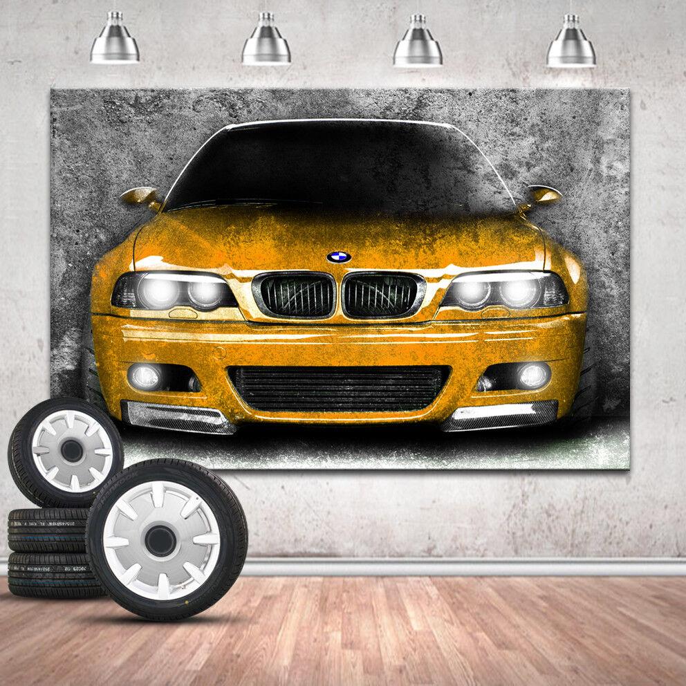 BMW 3er images Voiture Image Sur Toile Abstrait pression la fresque art pression Abstrait XXL 341 a 83bd28