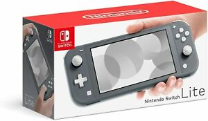 Nintendo Switch Lite Grey [Nintendo Switch Console Sleek Handheld System] NEW
