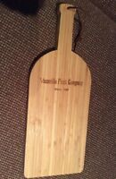 Cheese/bread Wood Cutting Board, Vacaville Fruit Company