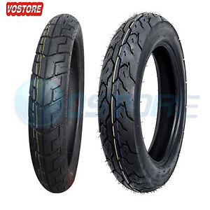 Motorcycle Tire Set 90 90 18 Front 130 90 15 Rear Tires For Honda Rebel 250 Ebay