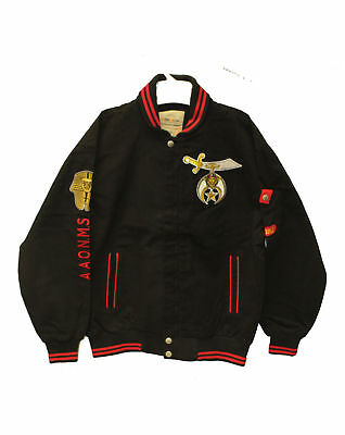 Norfolk State Hornets Script Name and School Crest on Snap Heavyweight Jacket