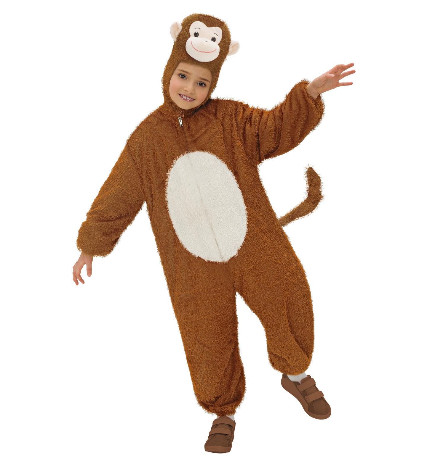 WIM 9778C  Affe Ape Funny Affenkostüm Fasching Karneval Kinder Unisex Kostüm