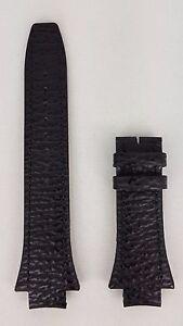Breil-Milano-Eros-BW0331-Watchband-BW03-31-Black-Genuine-Leather-Watch-Bracelet