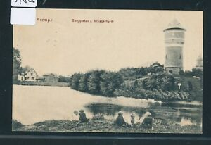 34826) Bahnpost Hambourg-hoyerschleuse Train 101?, Ak Rebord Chateau D Eau 1910-afficher Le Titre D'origine
