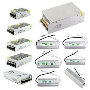 AC 110-220V TO DC 12V/24V Transformer Regulated Power Supply For LED Strip Light