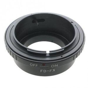 Distingué Anello Adattatore Canon Fd Su Fujifilm Fuji X-pro1 X-e2 X-e1 X-m1 X-a1 Obettivo