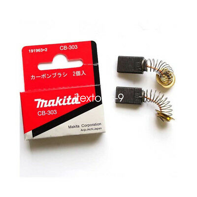 Replacement Carbon Brushes to Fit Makita CB303 UT2204 RP0910 RP1110C 9015B 9016DB DA4031
