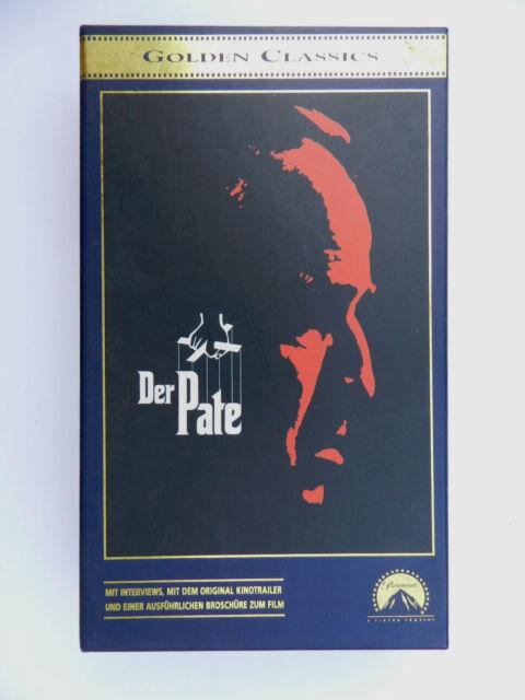 VHS Video Kassette Der Pate Marlon Brando