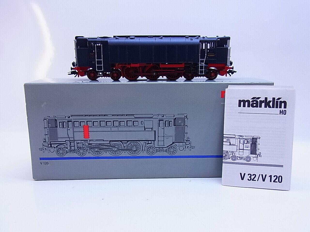 56615   Märklin h0 diesel-hidráulicas Lok V 120 serie especial mhi digital en OVP