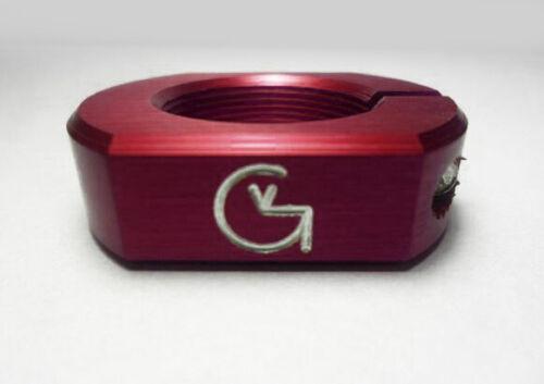 Von Giese VG BMX HEADSET LOCK Threaded CNC Aluminum Made in USA RED SE GT CW