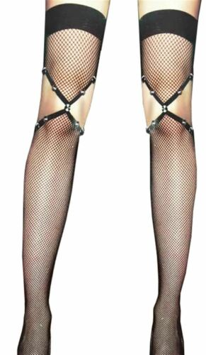 Details about  /Hot Alluring Womens Fishnet Hold Up Lingerie Sheer Retro Stockings Tights