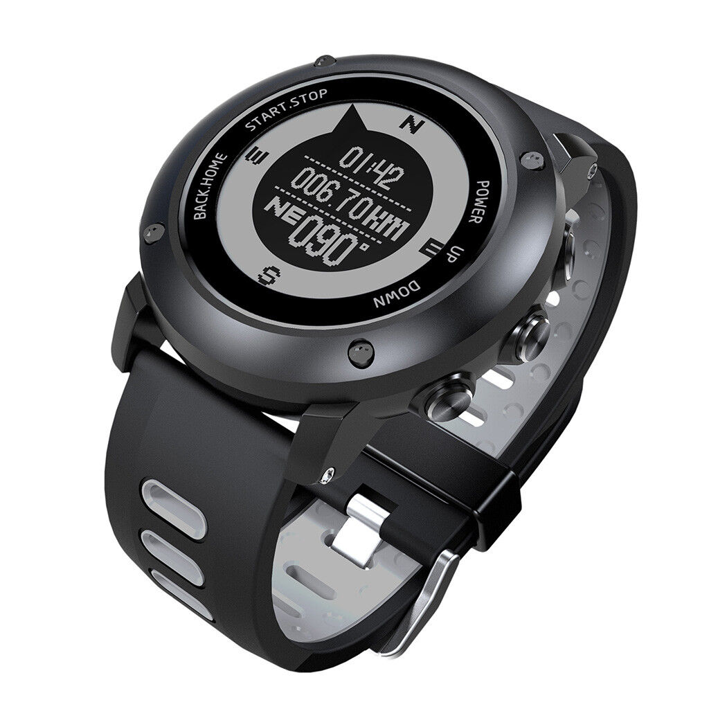 Waterproof blueetooth Smart Watch Outdoor GPS Running Watches for iPhone Samsung