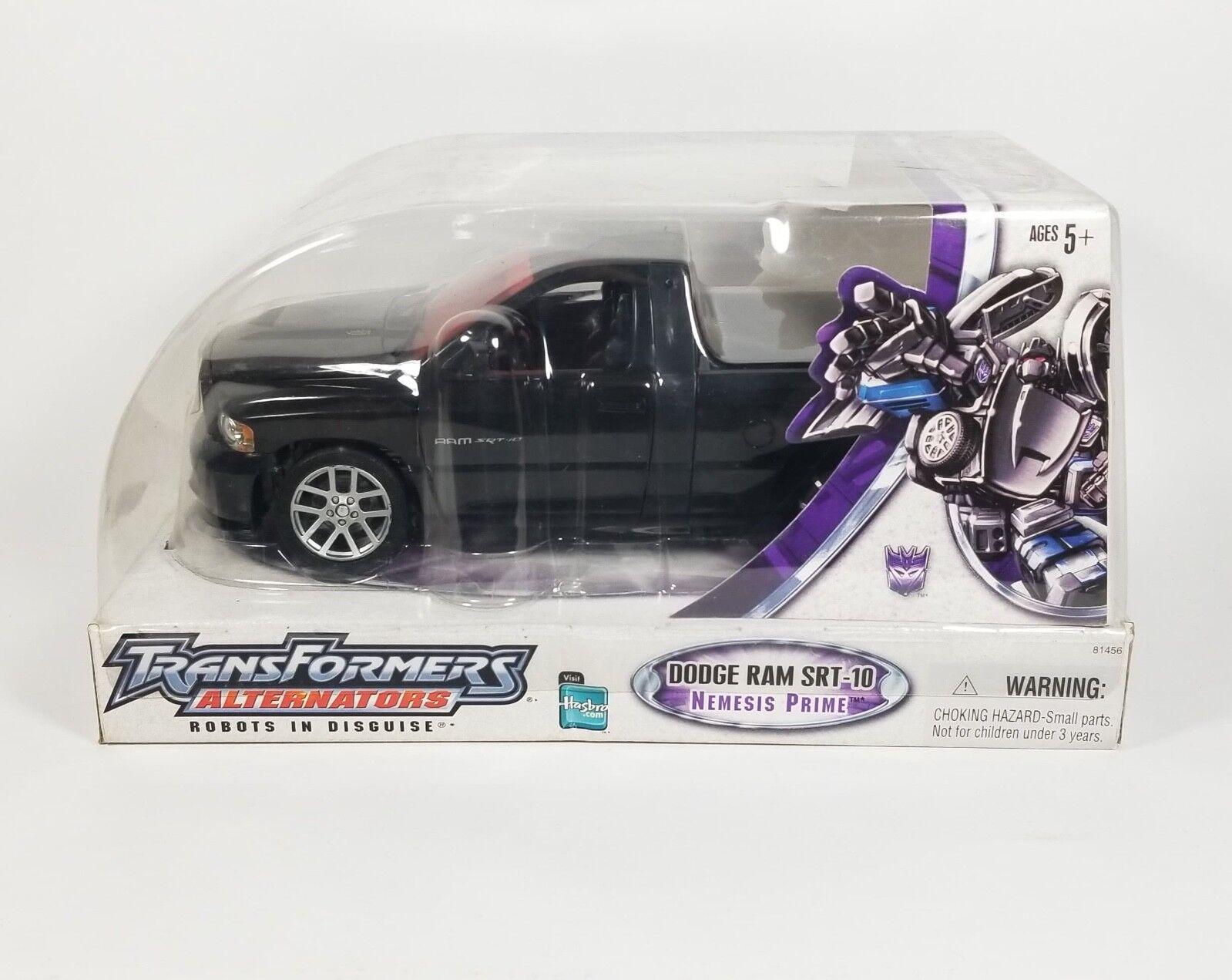 Transformers Alternators Nemesis Prime Sealed SDCC Exclusive With FACTORY ERROR