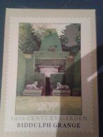 Bidulph Grange Stoke-on-Trent Staffordshire.Postcard First Day of Issue.