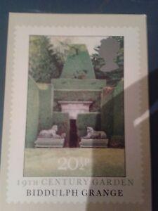 Bidulph-Grange-Stoke-on-Trent-Staffordshire-Postcard-First-Day-of-Issue