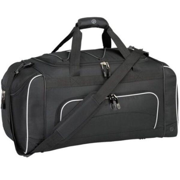 b6d1f54e1a Protege 24 in Sport Duffel Bag Black With Wet Shoes   Bottle Pocket for  sale online